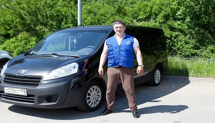 Заказ микроавтобуса СПб