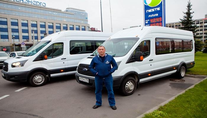 Аренда микроавтобусов в Санкт-Петербурге