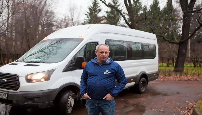 Заказать автобус СПб