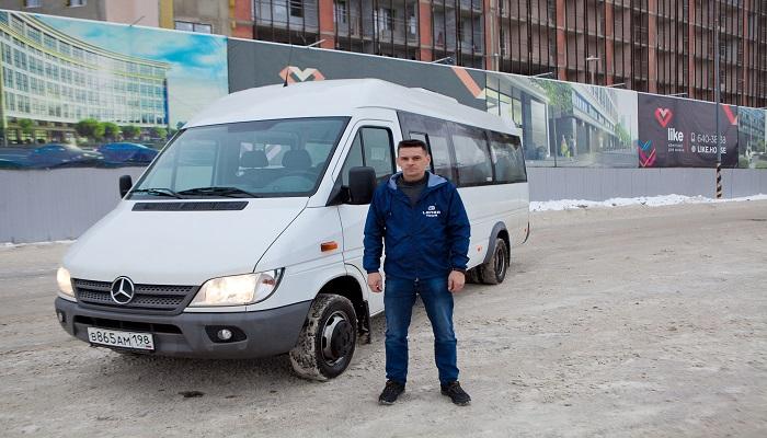 Аренда микроавтобуса СПб недорого