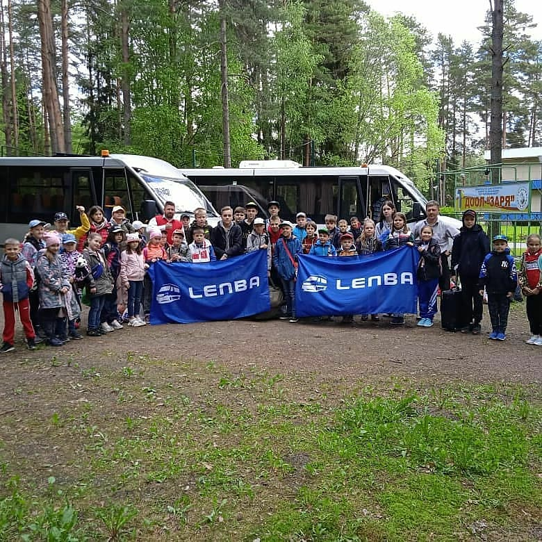 автобус для детей и школьников в Санкт-Петербурге ЛЕНБА